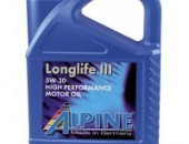 ALPINE Long Life 5W - 30 5литра моторно масло