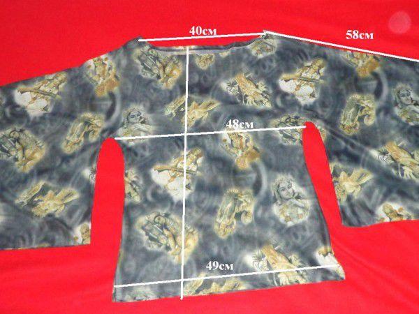 2. Снимка на Уникална блуза с интересен мотив