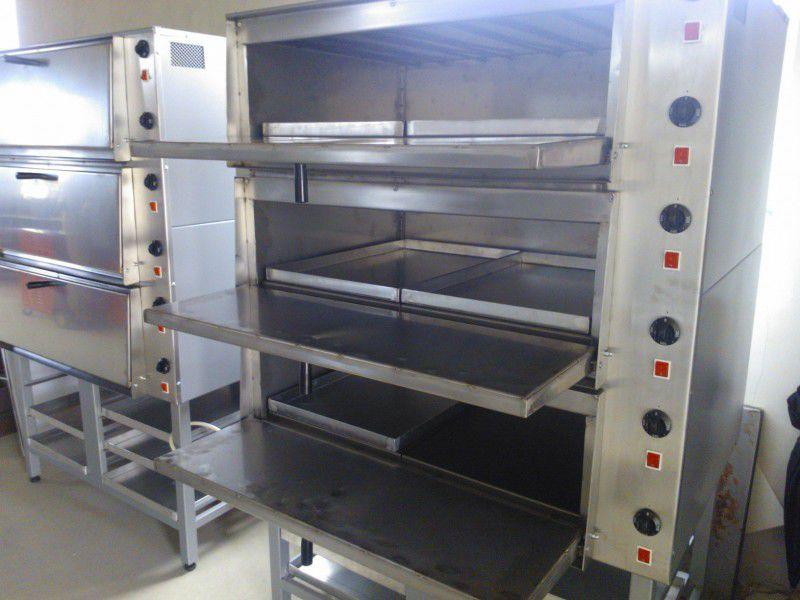 2. Снимка на Нова професионална ФУРНА - Пекарна за печене на закуски и пици