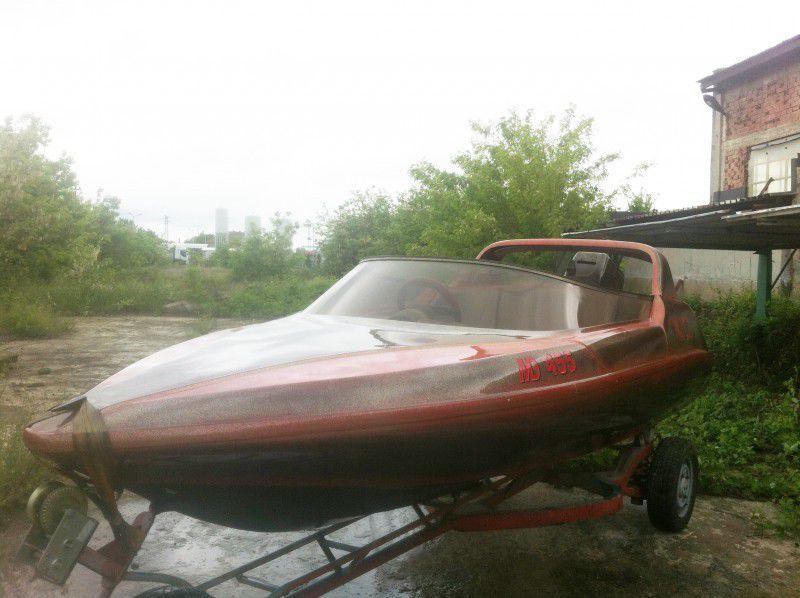 1. Снимка на Моторна лодка 65кс 2008г с колесар