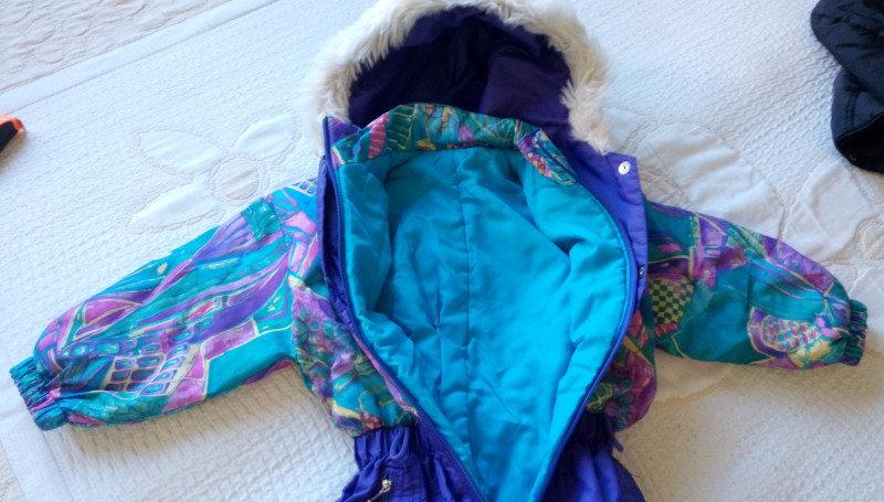 3. Снимка на Детски Гащиризон, зимна грейка - космонавт за ски