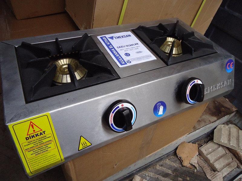 A .Втора употреба Котлони на газ професионални тройка за гот