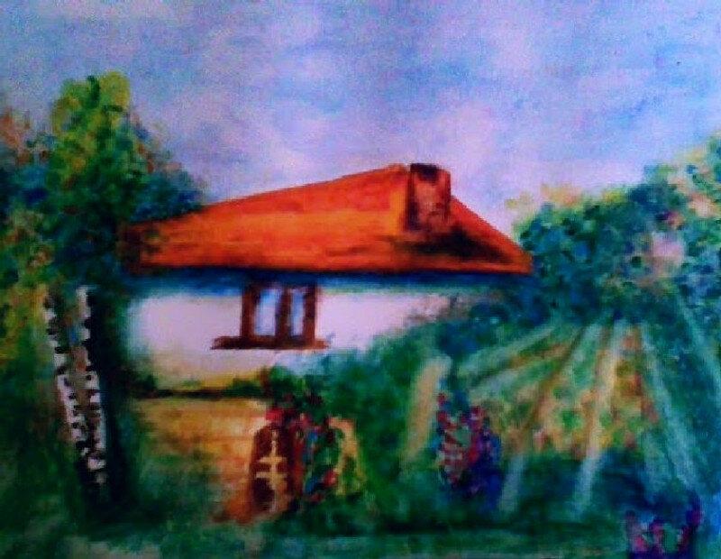 1. Снимка на Картини - акварел